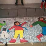 Moyens : la neige, par Gabriel, Hélie et Sixte
