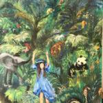 Micha dans la jungle - Par Françoise
