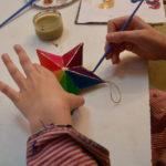 Petits : étoile multicolore