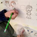Ados : cours de dessin animé, création de personnages