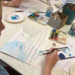Ados : perspective à l'aquarelle