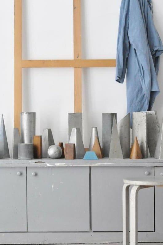 Atelier ambiance en gris