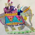 Maharadja sur son éléphant
