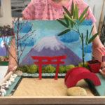 Grands : maquette de jardin japonais