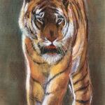 Tigre - Pastel