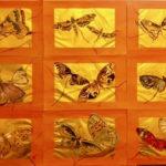 Papillon feuille d'or - Par Françoise