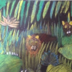 Pastel : la jungle