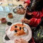 Petits : masques en pâte à papier