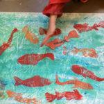 Petits : poissons rouges japonais