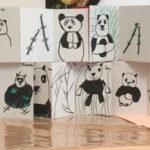 Petits : triptyque pandas