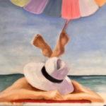 Repos à la plage - Par Fanny